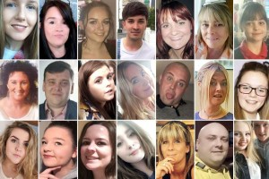 The 22 people killed in the Manchester attack